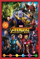 Avengers: Infinity War – Characters Framed Poster