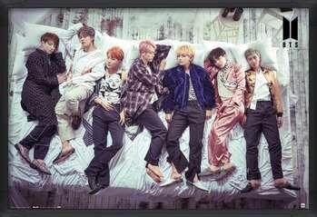 Framed Poster BTS - Bed
