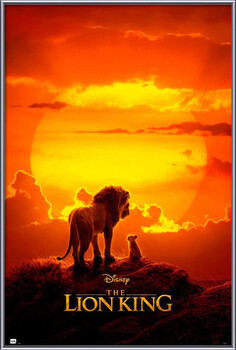 Framed Poster The Lion King - One Sheet