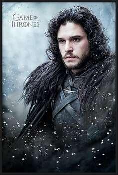 Framed Poster Game of Thrones - Jon Snow