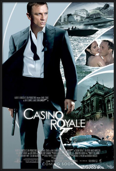 JAMES BOND 007 - casino royale iris one sheet Poster