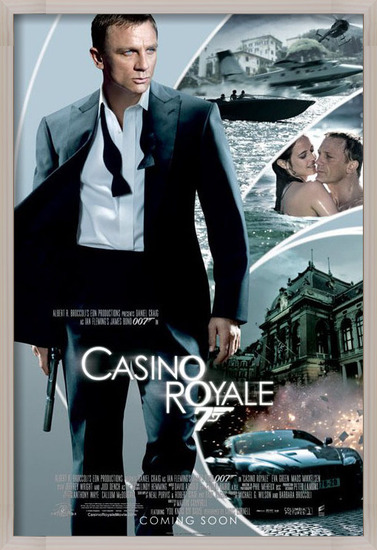 JAMES BOND 007 - casino royale iris one sheet Poster