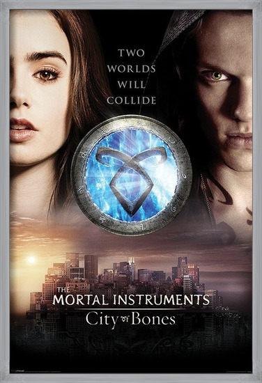 MORTAL INSTRUMENTS CITY OF BONES - two worlds Poster