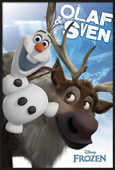 Frozen - Olaf and Sven Poster