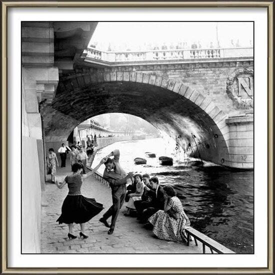 Paris - rock & roll Poster