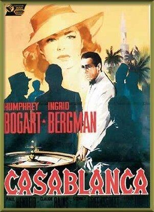 Casablanca - Humphrey Bogart, Ingrid Bergman Poster