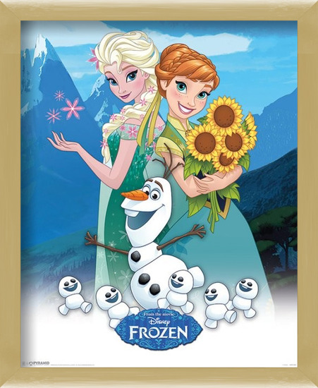 Frozen - Fever Poster