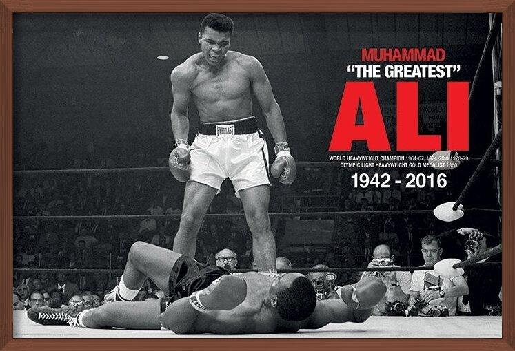 Muhammad Ali - Ali Vs Liston Poster