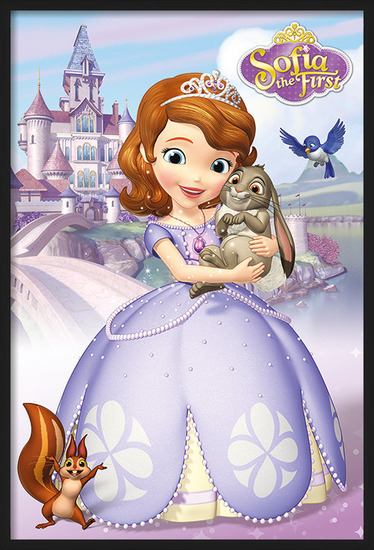Sofia the First - Characters Poster