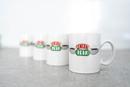 Friends Central Perk - Set 4pcs Original Espresso Mugs